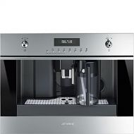 Smeg CMSU6451X 24 Built In Fully Automatic Coffee Machine with Milk Frother, Stainless Steel