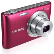 Samsung ST150F 16.2MP Smart WiFi Digital Camera with 5x Optical Zoom and 3.0 LCD Screen (Red)