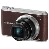 Samsung WB350F 16.3MP CMOS Smart WiFi & NFC Digital Camera with 21x Optical Zoom, 3.0 Touch Screen LCD and 1080p HD Video (Brown)