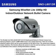 Samsung SS381 - SAMSUNG SNO-L6013R 2 MEGAPIXEL POE CCTV BULLET NETWORK IR CAMERA 1920 x 1080 RESOLUTION 3.6MM FIXED LENS WEATHERPROOF IP66 HD H.264, MJPEG