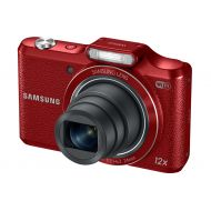 Samsung WB50F 16.2MP Smart WiFi & NFC Digital Camera with 12x Optical Zoom and 3.0 LCD (Red)