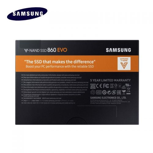 삼성 [직배송][추가금없음]Samsung SAMSUNG SSD 860 EVO 250GB 500GB 1TB Internal Solid State Disk SATA3 2.5 HD Hard Drivefor Laptop Desktop PC