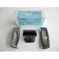 3DTV Corp 3D Glasses (TWO) and EY-3D-EMT2H Emitter for Mitsubishi HC9000D, H0DW, HC9000D, HC7900,HC7900DW, HC7800D, HC7800DW, HC8000, HC8000d-bl, HC5, EY-3D-EMT2H, EY3DEMT2H, EY-3DEMT2H emit