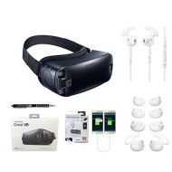 Samsung Handset Kit Samsung Gear VR Virtual Reality - 360 3D W Active Headset & Ear Gel StylusSharing Cable - For Galaxy S6S6Edge+Note 5S7S7Edge - (Retail Packing Kit) - US Warranty