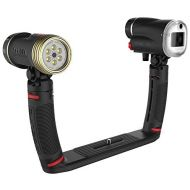 SeaLife SL964 Sea Dragon Duo 2300 UW PhotoVideo LED Dive Light & Flash Set with Flex-Connect Dual Tray & Arm Grips