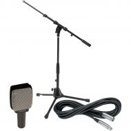 Sennheiser},description:This package includes 1 Sennheiser e 609 dynamic guitar mic; 1 Gear One 20 mic cable; and 1 DR Pro DR259 tripod mic stand with fixed boom. Sennheiser e 609