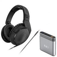 Sennheiser HD 200 Pro Monitoring Headphones + FiiO Headphone Amp