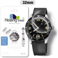 Smartwatch Screen Protector Film 32mm for Healing Shield AFP Flat Wrist Watch Analog Watch Glass Screen Protection Film (32mm) [3PACK]