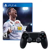 Sony Dualshock 4 Controller With Fifa 18 Game