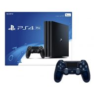 Sony Playstation 4 Pro 1TB Console with Extra 500 Million Limited Edition Translucent Blue Dualshock 4 Wireless Controller Bundle