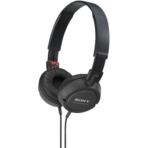 소니 Sony Mdrzx100blk Fashion Over-The-Head Sports Headphones (Black)