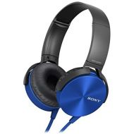 Sony MDR-XB450AP Extra Bass Headphone - Blue (International Version U.S. warranty may not apply)