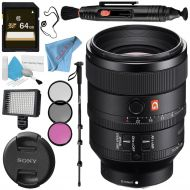 Sony FE 100-400mm f4.5-5.6 GM OSS Lens SEL100400GM + 77mm UV Filter + Fibercloth + Lens Capkeeper Bundle