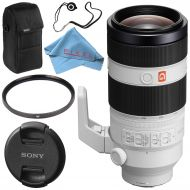 Sony FE 70-200mm f2.8 GM OSS Lens SEL70200GM + 77mm UV Filter + Fibercloth + Lens Capkeeper Bundle