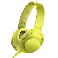 Sony h.ear on Premium Hi-Res Stereo Headphones (wired), Lime Yellow