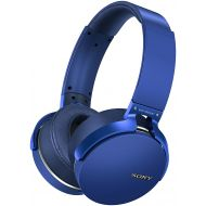 Sony MDRXB950BTL Extra Bass Bluetooth Headphones, Blue