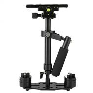 Sutefoto SUTEFOTO S40 Handheld Stabilizer Steadicam Pro Version for Camera Video DV DSLR Nikon Canon, Sony, Panasonic with Quick Release Plate (Black)