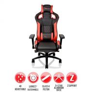 Thermaltake Tt Esports GT Fit F100 Racing Bucket Seat Style Ergonomic Gaming Chair BlackRed GC-GTF-BRMFDL-01