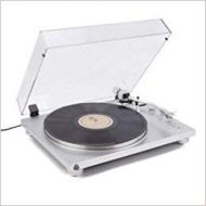 GPO PR 100 Turntable Bluetooth Built in Pre Amp Audio TechnicaCartrigde Silver