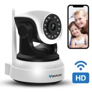 VSTARCAM WiFi Camera,VStarcam Wireless IP Camera with Night Vision for Indoor, 2 Way Audio and Multi-Users Home Security Monitor,PTZ Motion Detection Pet Baby Cam, with Cloud Service, Suppo