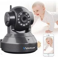 VSTARCAM C37A-B HD 960P Indoor Wireless WIFI IP Camera P2P Onvif Multi-stream Night Vision Two-way Voice Network CCTV Baby Monitor Mobile Phone Remote Monitoring (Maximum support 1