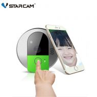 Vstarcam VStarcam C95 HD 720P Wireless WiFi Security IP Door Camera Night Vision Two Way Audio Wide Angle Video Doorcam Cam