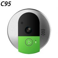 Vstarcam Wireless Door Bell HD 720P Two Way Audio Night Vision Wide Angle Video WiFi Security Doorbell Camera C95C95-TZ