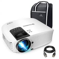 Vankyo VANKYO Leisure 510 Full HD Movie Projector with 3800 Lux, Video Projector with 200 Projection Size, Support 1080P HDMI VGA AV USB with HDMI Cable and Carrying Bag