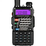 BaoFeng UV-5R+ Dual-Band 136-174400-480 MHz FM Ham Two-Way Radio (Black)