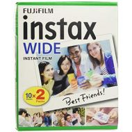 ElectricalCentre Bundle 5 packs of 20 Fujifilm Instax Wide format Film (100 photos) for Fuji Instax 210 camera