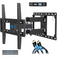 Visit the Mounting Dream Store Mounting Dream TV Wall Mounts TV Bracket for Most 32-55 Inch Flat Screen TV/ Mount Bracket , Full Motion TV Wall Mount with Swivel Articulating Dual Arms , Max VESA 400x400mm , 99