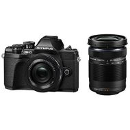 Olympus OM-D E-M10 MarkIII double zoom kit (black)(Japan Import-No Warranty)