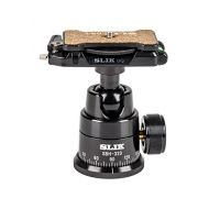 Slik SLIK SBH-320 Professional Ballhead 320 with DQ-L Quick Release, Supports 15.4 lbs., Black (618-320)