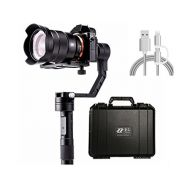 WOHOO Zhiyun Crane 3-Axis Handheld Gimbal for DSLR & Mirrorless Cameras, CNC Aluminum Alloy Construction w/ 360° Brushless Motors, 1-Year Warranty