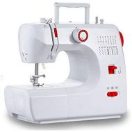 Wei Zhe WZ Sewing Machine, Mini Portable Heavy Duty Two-Speed Repair Machine, Pedal, Lighting Function, with 16 Built-in Stitches Art Sewing Tool