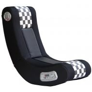 X Rocker 5171101 Drift Wireless 2.1 Sound Gaming Chair, BlackWhite Checkered Flag