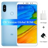 [직배송][추가금없음]Xiaomi Redmi Note 5 6GB 64GB Snapdragon S636 Octa Core Mobile Phone 5.99 2160*1080 4000mAh 12.0+5.0MP Dual AI Camera OTA Update