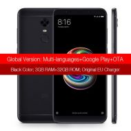 [직배송][추가금없음]Xiaomi Redmi 5 Plus 3GB 32GB Cellphone Snapdragon 625 Octa Core 5.99'' 18:9 Full Screen Smartphone Global ROM LTE 4G FHD+ MIUI 9