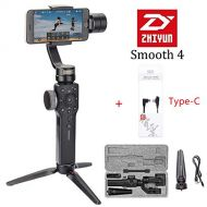 Zhi yun Zhiyun Smooth 4 3-Axis Handheld Gimbal Stabilizer for Smartphone Like iPhone Xs X 8 7 Plus Android Samsung S9 S8,Gopro,Focus Pull/Zoom,Object Tracking (Smooth 4 with Type-C)