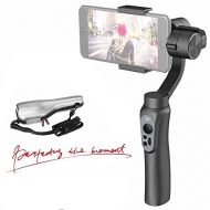 Zhi yun Zhiyun Smooth-Q 3-Axis Handheld Gimbal Stabilizer for Smartphone Like iPhone X 8 7 Plus 6 Plus,Samsung Galaxy S7 S6,Featuring APP Control,Wireless Control Vertical Shooting (Smooth