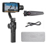 Zhiyun Smooth 4 3 Axis Handheld Gimbal Stabilizer, Focus Pull & Zoom Capability, Timelapse Expert, Object Tracking, Two-Way Charging & 12h Runtime, Phonego Mode for Instant Scene T
